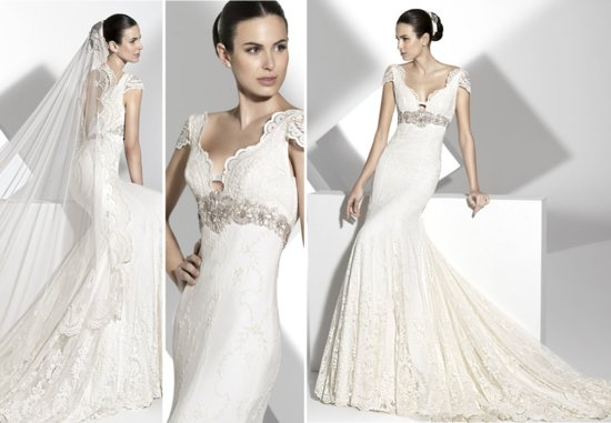 2013 wedding dress Franc Sarabia bridal gowns Spanish designers 9