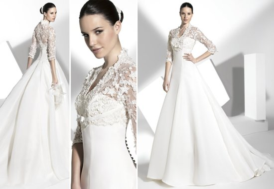 2013 wedding dress Franc Sarabia bridal gowns Spanish designers 11