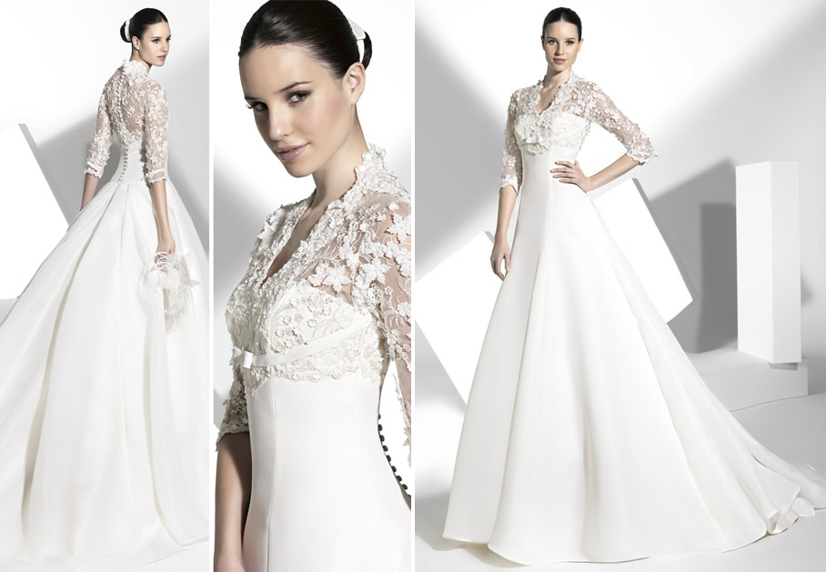 2013 wedding dress franc sarabia bridal gowns spanish With spanish wedding dress designers