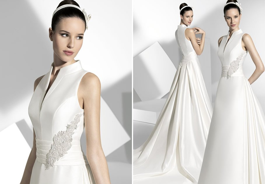 2013 wedding dress franc sarabia bridal gowns spanish designers 10