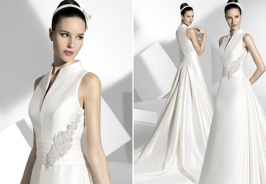 2013 Wedding Dress Franc Sarabia Bridal Gowns Spanish