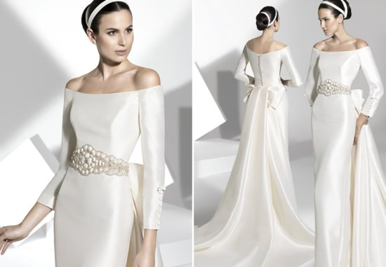2013 wedding dress Franc Sarabia bridal gowns Spanish designers 8