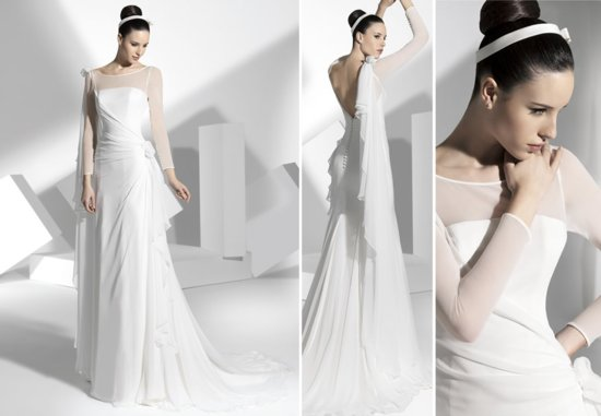 2013 wedding dress Franc Sarabia bridal gowns Spanish designers 6