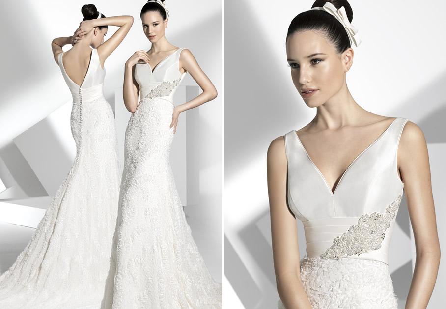 2013 wedding dress franc sarabia bridal gowns spanish designers 3