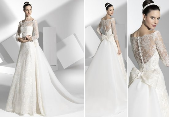 2013 wedding dress Franc Sarabia bridal gowns Spanish designers 2