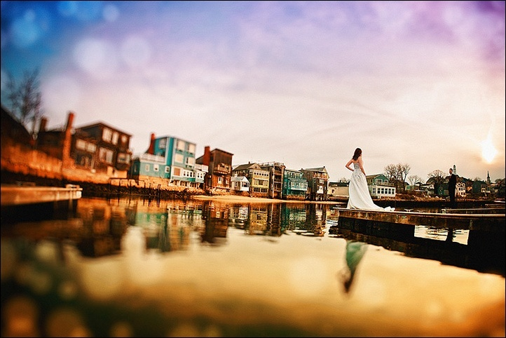Priceless-wedding-photo-bride-off-in-distance.full