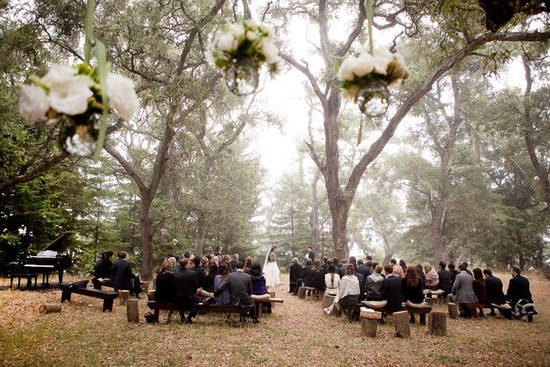 priceless wedding photos romantic outdoor wedding vows