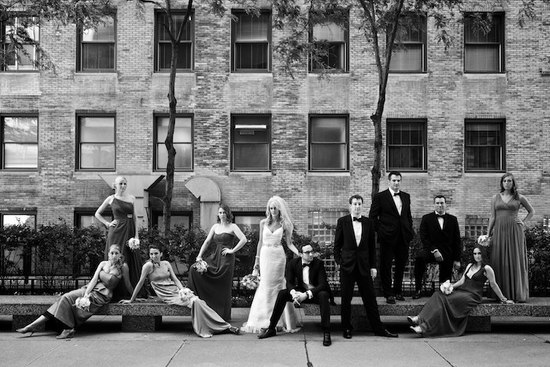 priceless wedding photos wedding party portrait