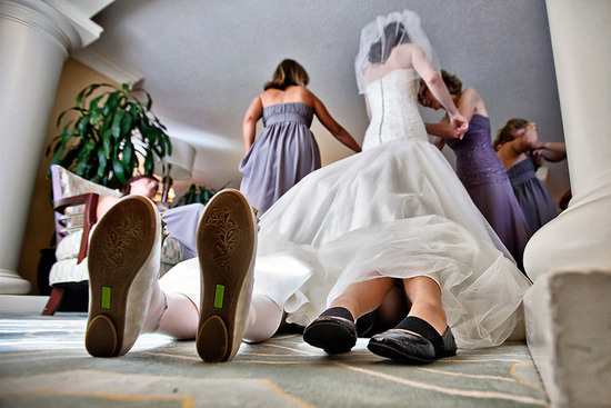 priceless wedding photos kids plan beneath dress