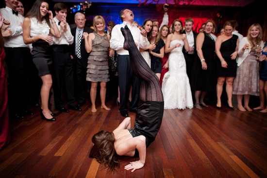 priceless wedding photos dance floor shenanigans