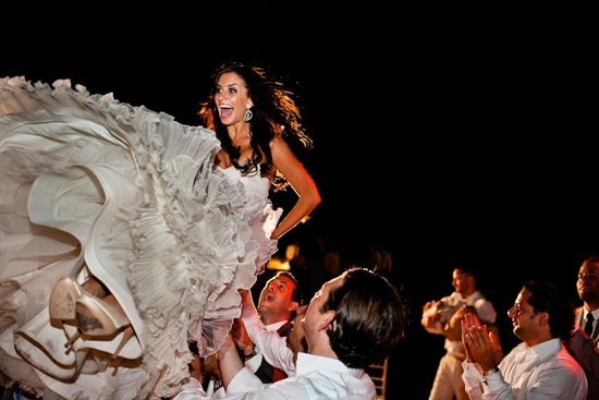 priceless wedding photos brides reaction during reception fun