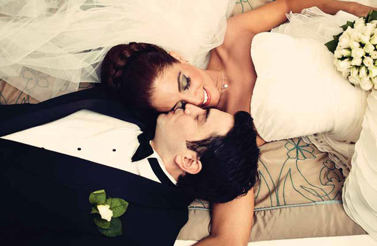 photo of priceless wedding photos bride and groom intimate moment