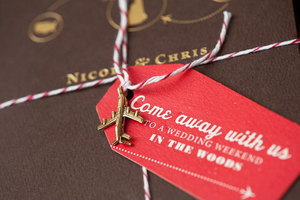 photo of Map Wedding Pretties for Travel Loving Nearlyweds