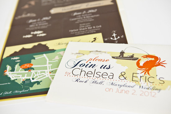 map inspired weddings travel themed wedding invitations and paper from Etsy rustic