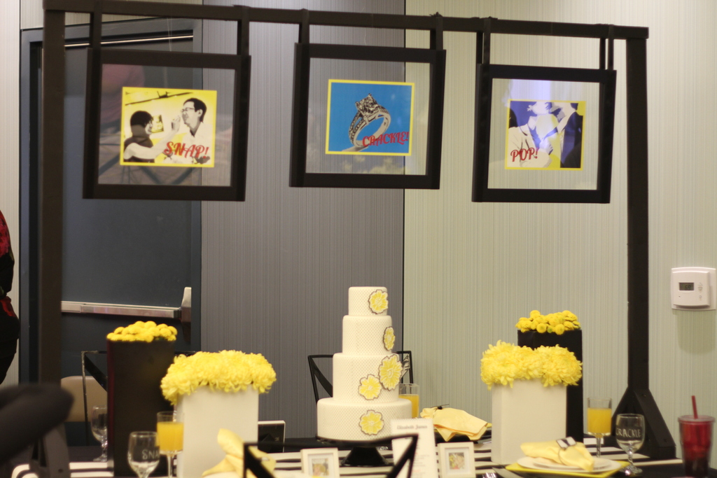 Creative-wedding-themes-inspired-by-art-roy-lichtenstein-retro-weddings-1.full