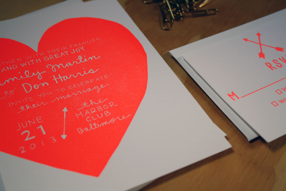 Unique-wedding-invitations-letterpress-stationery-for-brides-grooms-neon-love.full