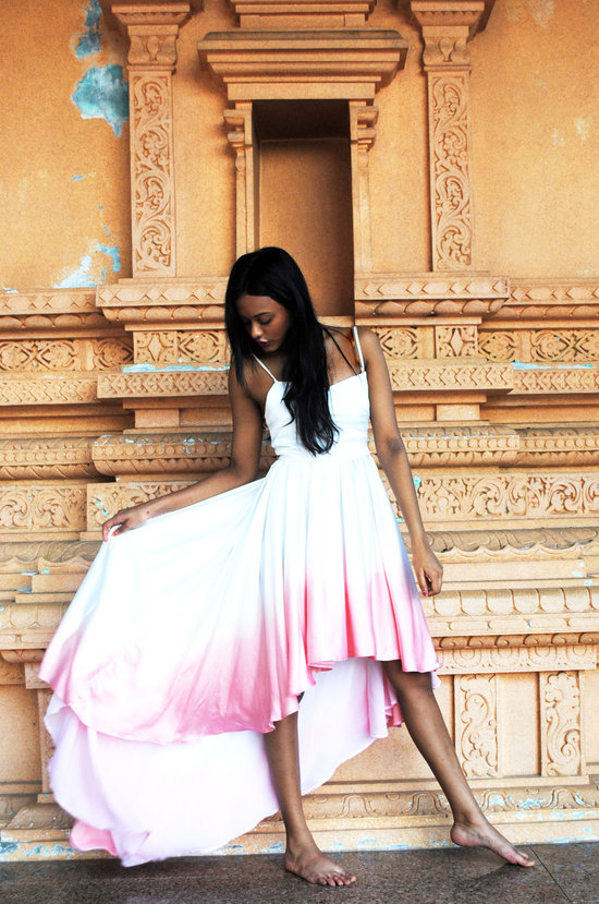 gorgeous ombre bridesmaid dress Etsy handmade wedding finds