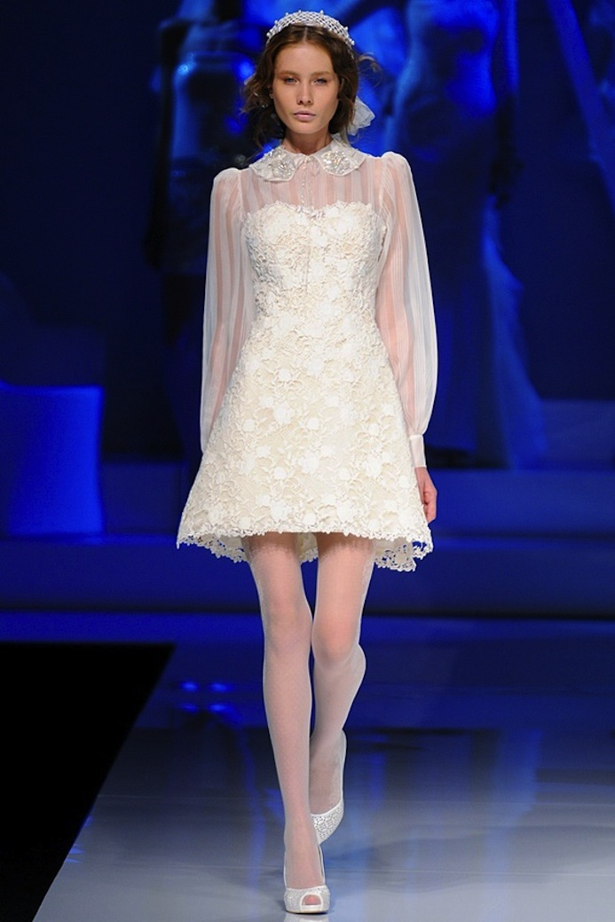 2013 wedding dresses International bridal couture bridal gown from Spain lwd 2