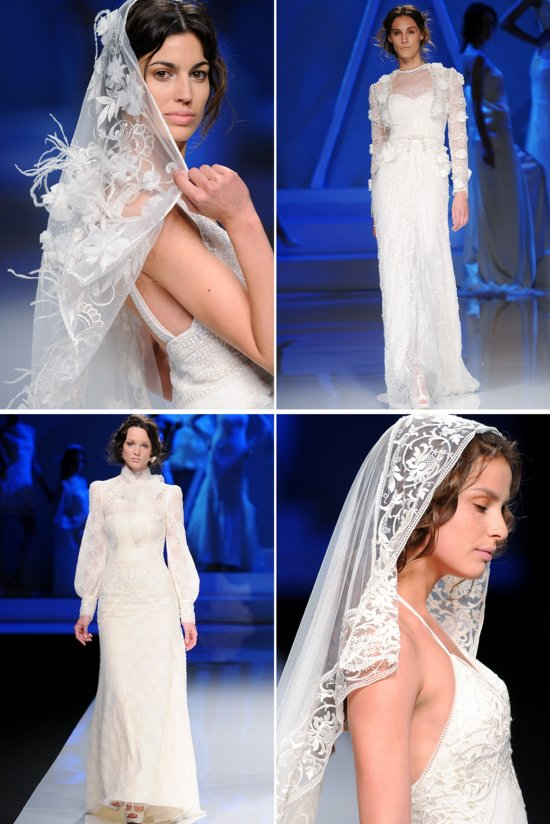 2013 wedding dresses International bridal couture bridal gown from Spain Yolan Cris