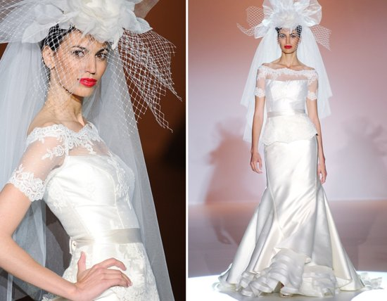 photo of 2013 wedding dresses from Spain bridal style couture 1