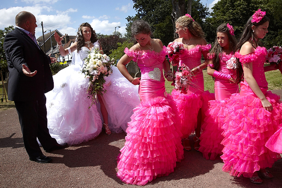 bad bridesmaid style ugly bridal party photos wedding fun 8