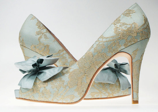 something blue wedding inspiration bridal style spotting shoes
