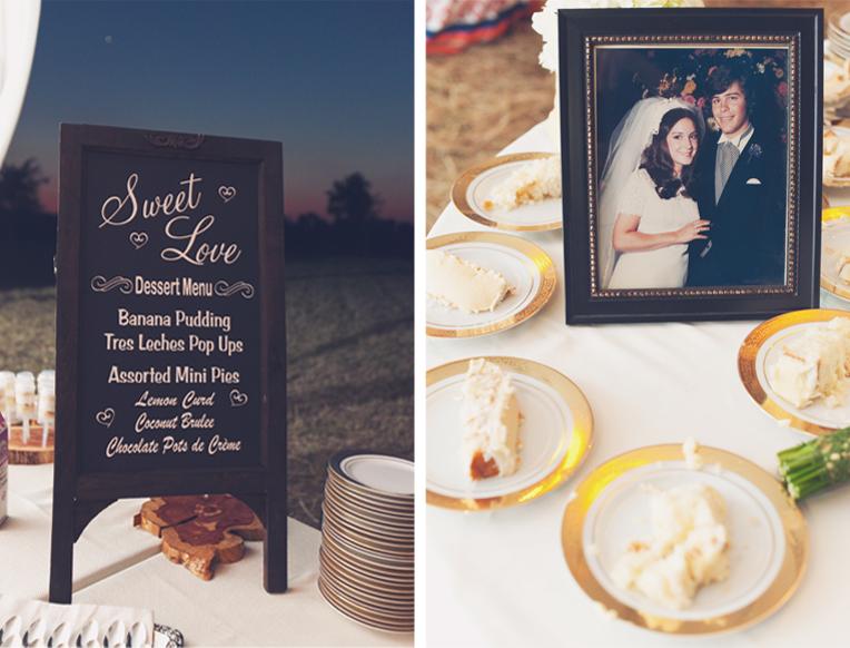 Rustic Farm Wedding Texas Photographers Elegant Outdoor Venue Chalkboard Menu Vintage Photos