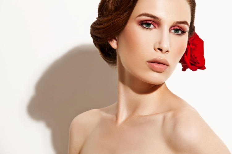 Wedding Hair And Makeup Inspiration : gorgeous wedding hair and makeup bridal beauty inspiration ...