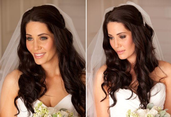 photo of bridal beauty inspiration wedding hair makeup romantic 1