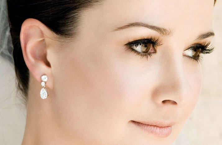 Full Bridal Makeup : bridal beauty inspiration wedding hair makeup warm tones ...
