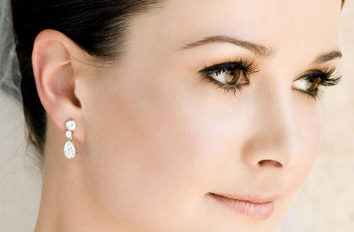 Wedding Hair And Makeup Inspiration : bridal beauty inspiration wedding hair makeup warm tones ...