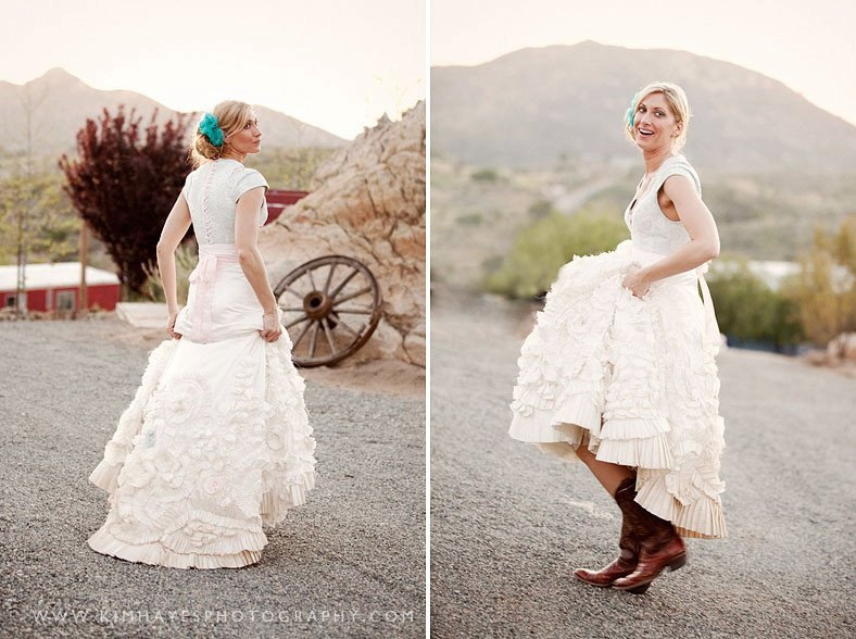 Vintage Barn Wedding Dress