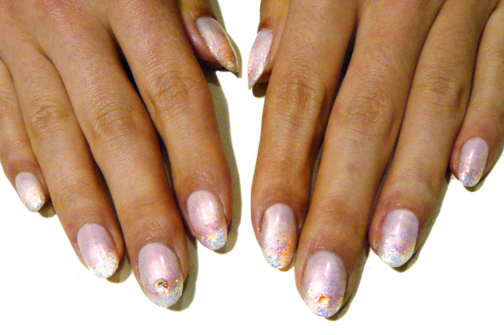 wedding worthy manicures for the fashion forward bride pearly pink