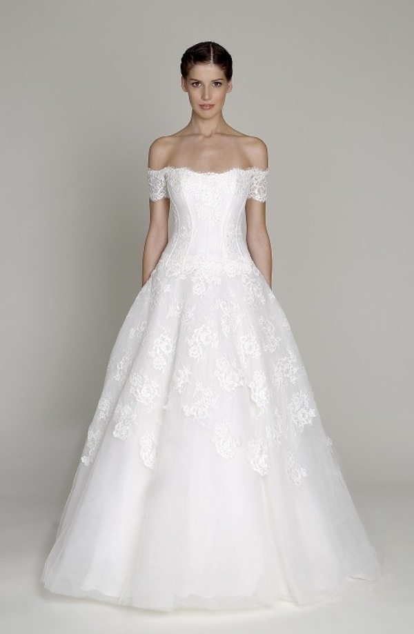 2013 wedding dress Monique Lhuillier Bliss bridal gowns 16