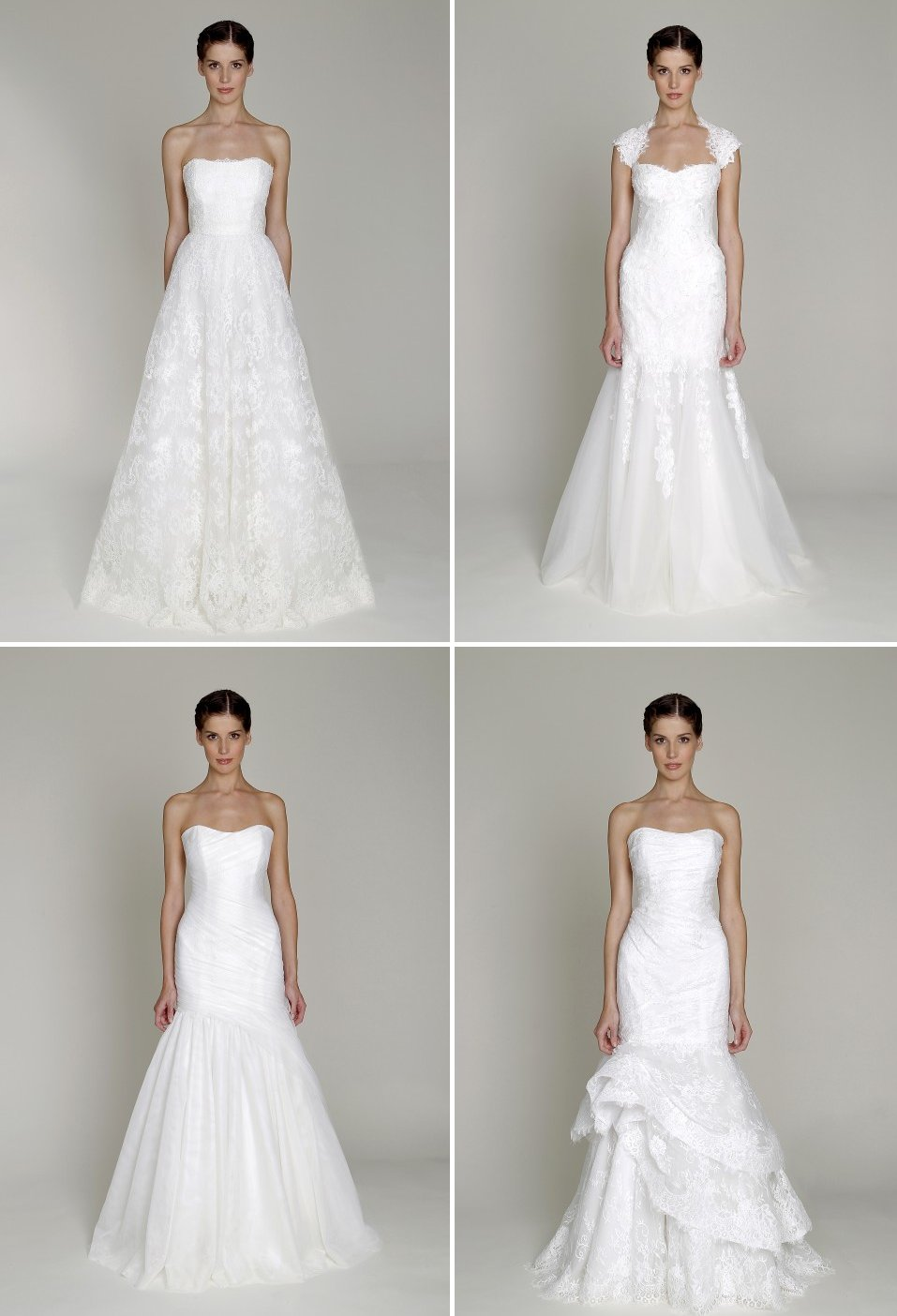 affordable designer bridal gowns Bliss by Monique Lhuillier wedding dress 2