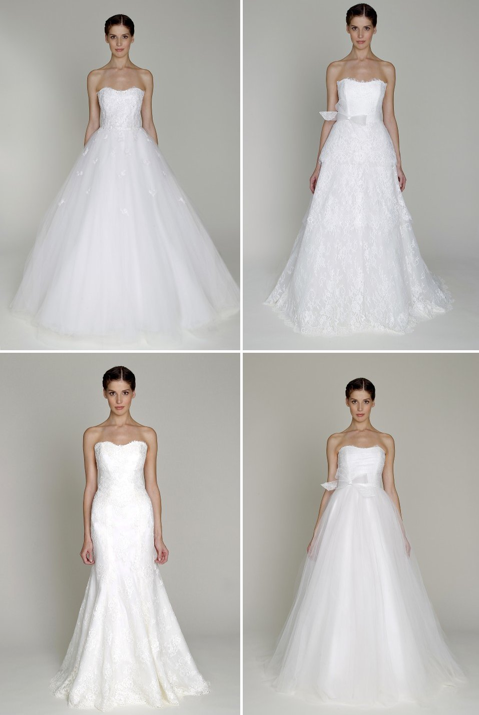 affordable designer bridal gowns Bliss by Monique Lhuillier wedding dress 1