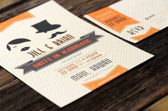 fun wedding details for the reception mustache theme wedding finds vintage inspired invitations