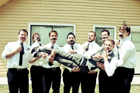 fun wedding details for the reception mustache theme wedding finds wedding party guys