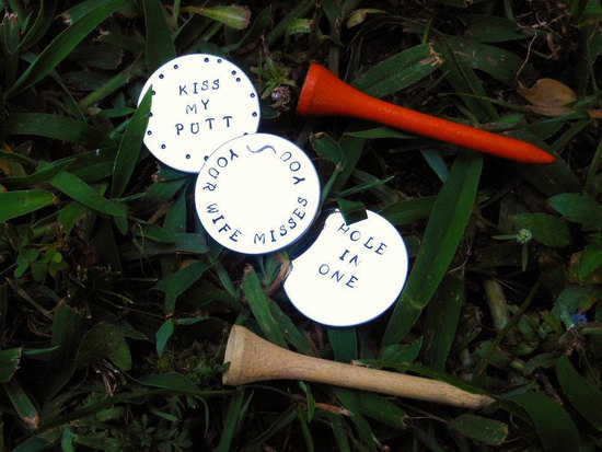 rad wedding gifts for groomsmen best man golf markers
