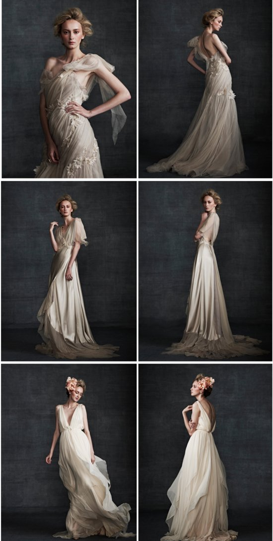 Elegant wedding gowns Samuele Couture 2013 wedding dress