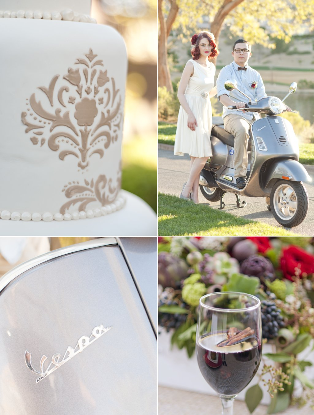 romantic wedding inspiration for fall outdoor weddings Parisian inspired 2