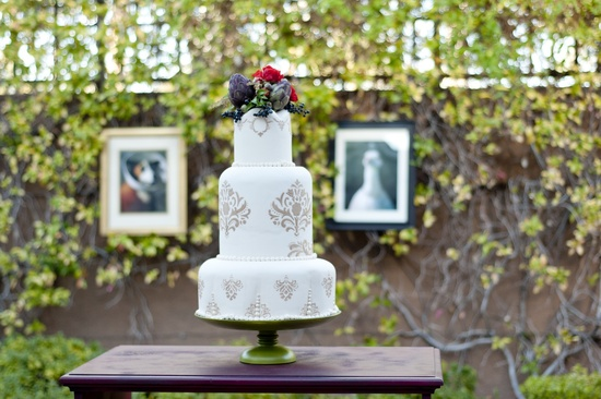 Parisian romance wedding inspiration handmade weddings Amelie theme wedding cake