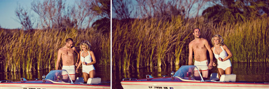 photo of Diamonds Are a Girl's Best Friend, and This Retro Engagement Shoot is a Gem
