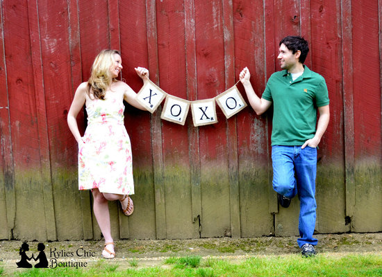 wedding theme inspiration Scrabble infused weddings xoxo sign