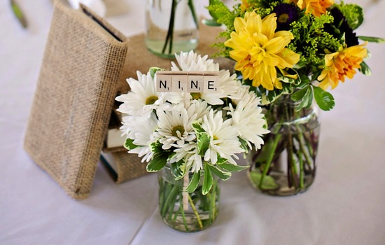 wedding theme inspiration Scrabble infused weddings 8