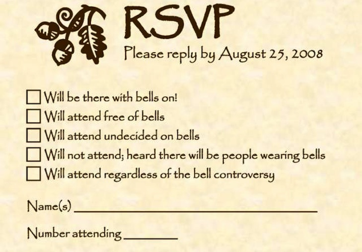 Funny wedding invitations rsvp onewedcom for Some funny wedding invitations