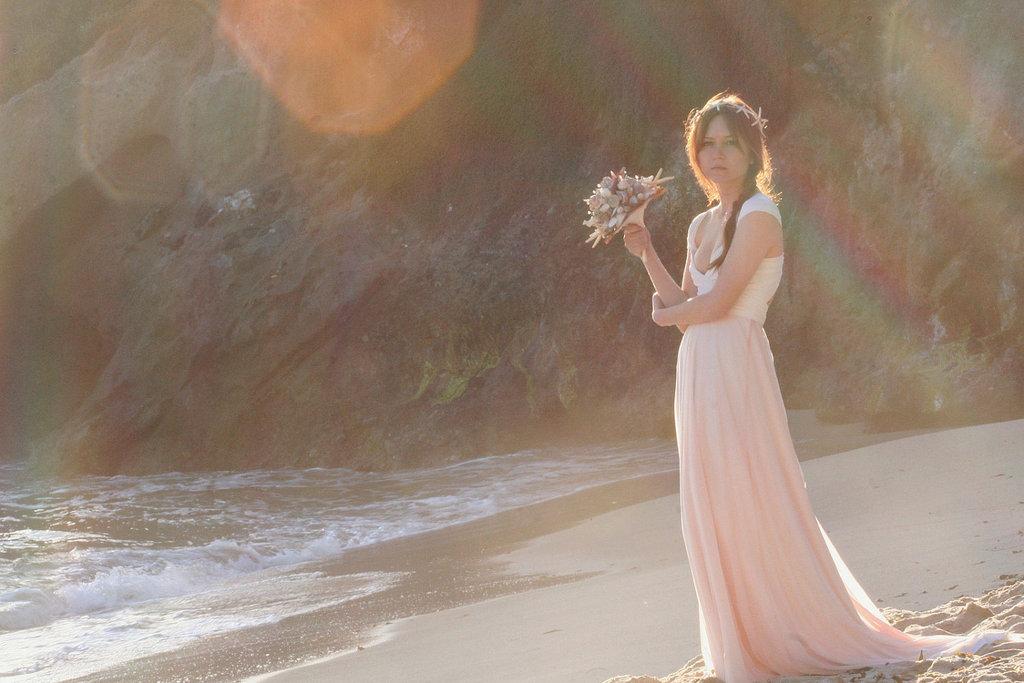 Peach-wedding-pretties-for-romantic-weddings-bridesmaid-dress.full