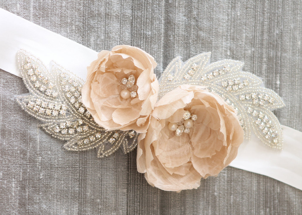 Peach-wedding-pretties-for-romantic-weddings-bridal-sash-2.full