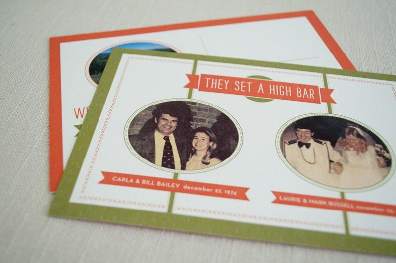 funny wedding invitations with a vintage twist 1