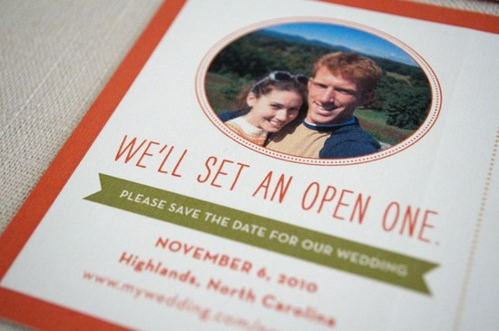 funny wedding invitations with a vintage twist 2